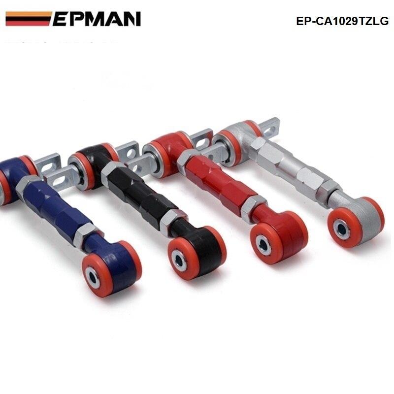 Nuevo KIT de brazos CAMBER ajustables trasero de competición de alta calidad para Honda 88-01 CIVIC EP-CA1029TZLG