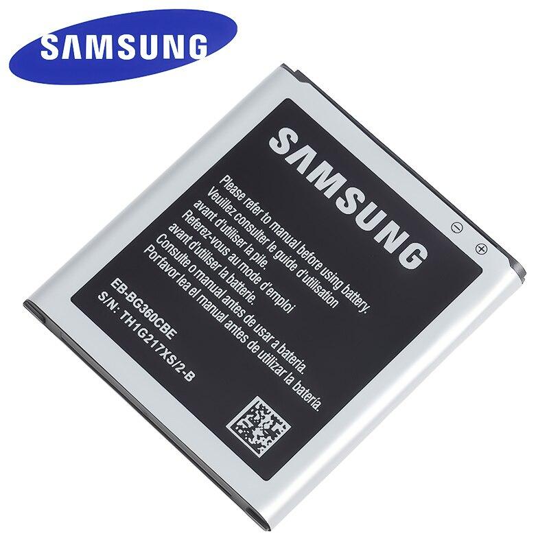 EB-BG360CBE batería Original para Samsung Galaxy Core primer G360 G361 G360V G3608 G360H J200EB-BG360CBC EB-BG360BBE NFC 2000mAh