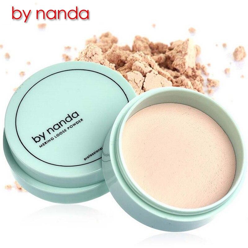 От Nanda бренд полупрозрачный свободный порошок с отделкой слоеной кожей контурный макияж основа пудра для лица Водонепроницаемая косметика