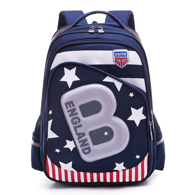 Популярные новые детские школьные сумки для подростков, ортопедический школьный рюкзак для мальчиков и девочек, водонепроницаемый детский...