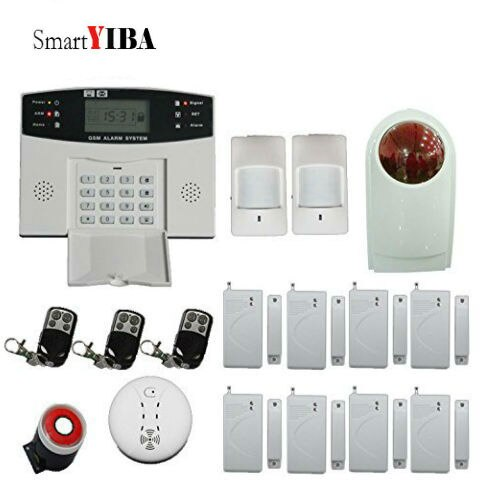 smartyiba sistema de alarme residencial sem fio de gravacao de mensagem automatica