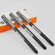 5 pièces/ensemble mignon 0.2mm Super mince aiguille noir encre Gel stylos étudiant étude papeterie main compte eau stylos fournitures