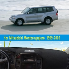 Dashmats auto-styling zubehör armaturenbrett abdeckung für Mitsubishi Montero Pajero 3 V77 V75 2000 2001 2002 2003 2004 2005 2006