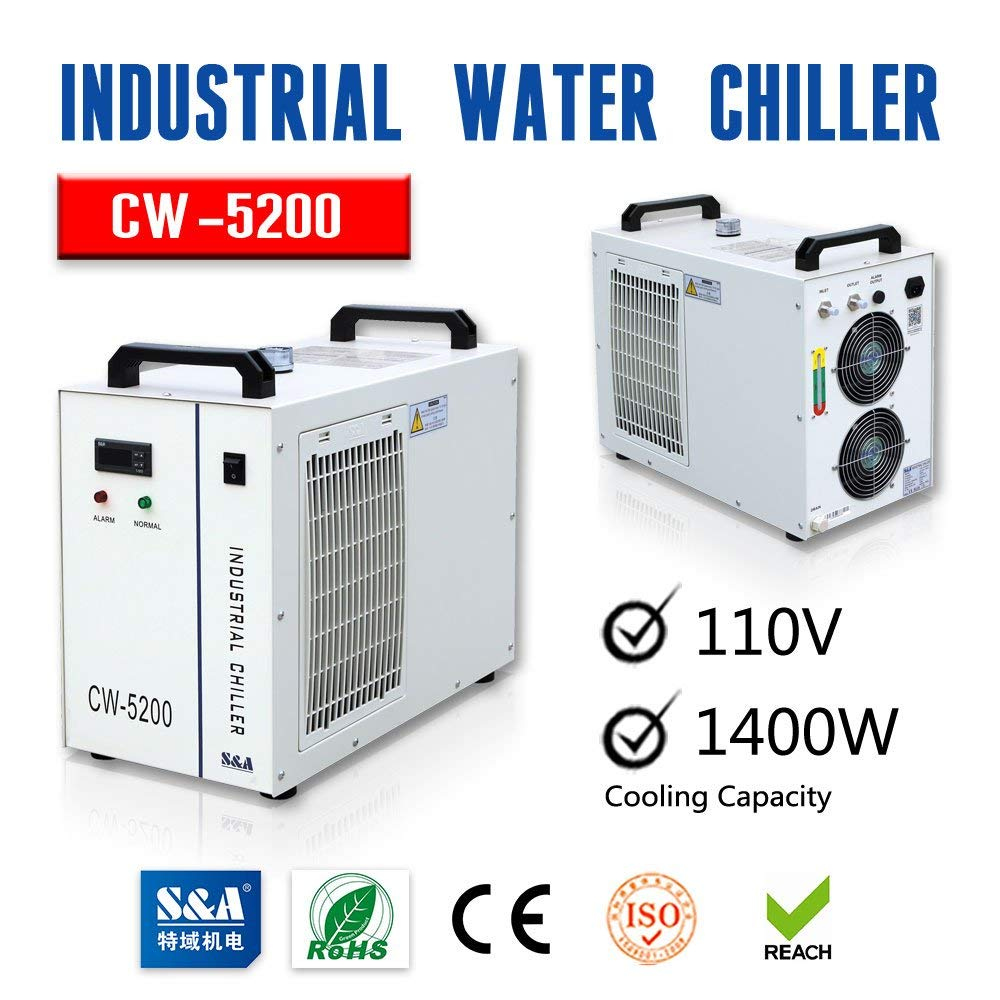 CW5200 CO2 Laser Tube Water Chiller for Laser Engraving Cutting Machine