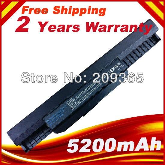 5200mAh 6 celdas, 10,8 V batería de portátil para Asus X53E X54F X54H X54K A32-K53 A42-K53 A43 K43 X43 K53