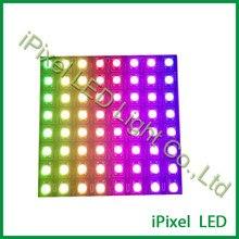 Pixel numérique Flexible de rvb de led pour laffichage de la matrice ws2812b de 8x8