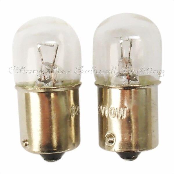 Auto bulb 12v 10w ba15s t16x36 b071 sellwell lighting