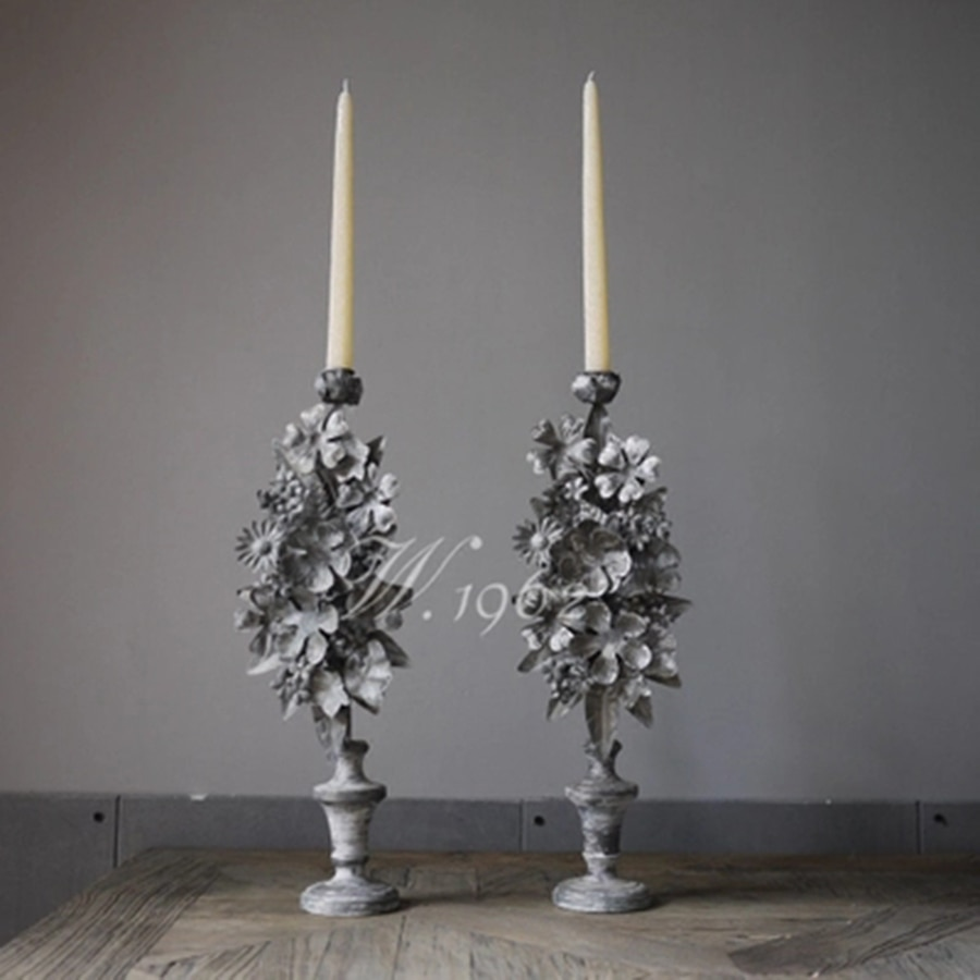 Velas De pilar De marfil para Ceremonia De boda Velas De decoración...