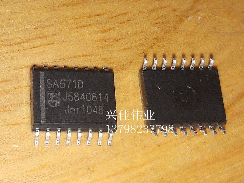 10 piezas el nuevo SA571 SA571D SOP-16 procesamiento lineal de Audio