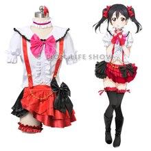 Personnalisé japonais Anime amour en direct Yazawa Nico école idole projet Cosplay Costume robe tenue