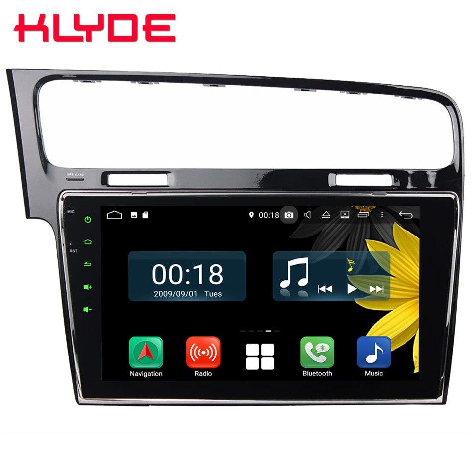 "10,1 ""IPS Octa Core 4G Android 9,0 4GB de RAM 64GB ROM RDS coche reproductor de DVD Radio GPS Glonass para Volkswagen Golf 7 MK7 2013-2017"