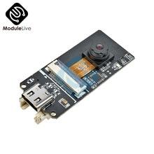 ESP32-CAM OV2640 2MP capteur caméra Module USB type-c carte ESP32 pour Arduino Bluetooth CP2104 USB TTL WiFi émetteur-récepteur