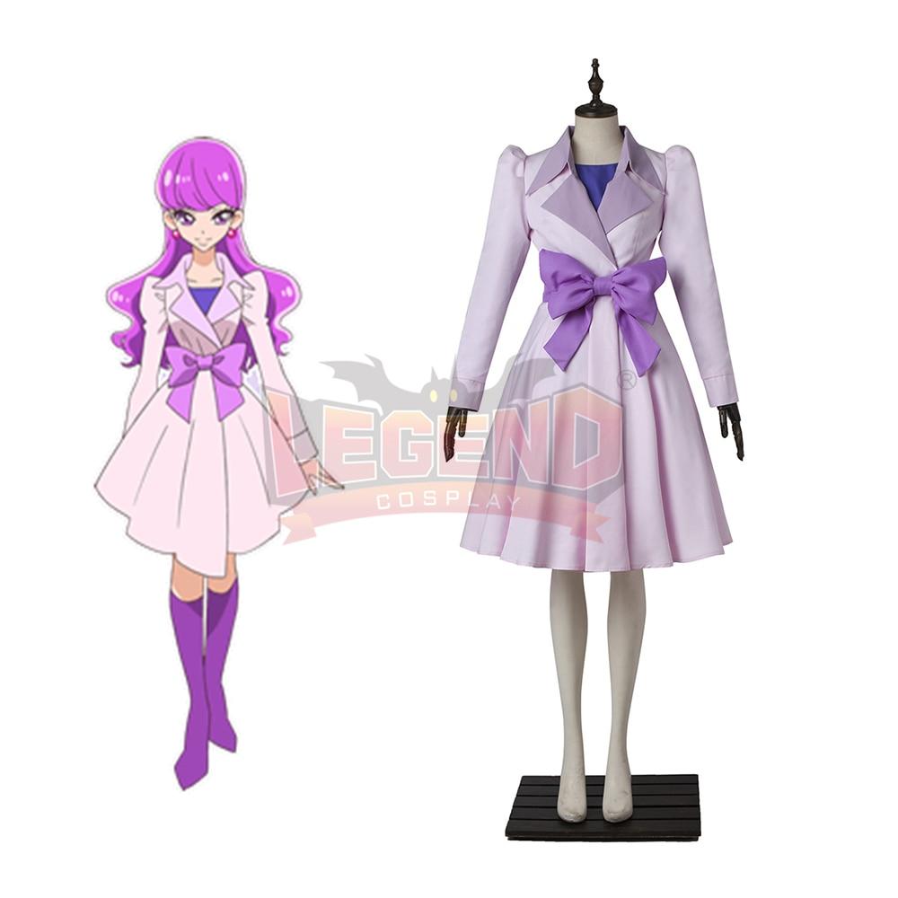 KiraKira Pretty Cure A La Mode Cure Macaron Kotozume Yukari cosplay costume dress outfit custom size
