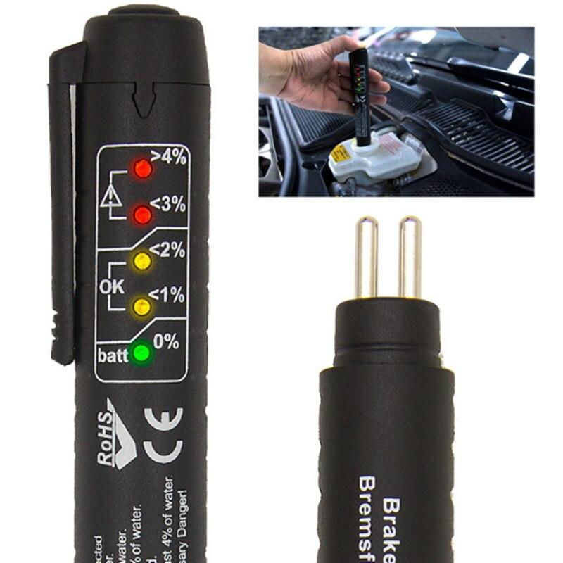 Aceite de control de calidad de la pluma Universal de freno de coche líquido Digital probador para Volvo S40 S60 S80 S90 V40 V60 V70 V90 XC60 XC70 XC90