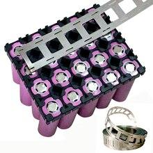 5M nickel bande 18650 Lithium batterie Pack faisant des bandes de Nickel 2P deux batteries en parallèle soudé nickelé acier bande 5m