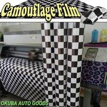 Jocercamera-enveloppe vinyle 1.52*30m/roll   Bande de course, Camouflage en vinyle, habillage de véhicule