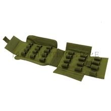 Army Green Tactical Molle Hunting Ammo bag  25 Round 12GA 12 Gauge Ammo Shells Shotgun Reload Magazine Pouches Magazine Bag