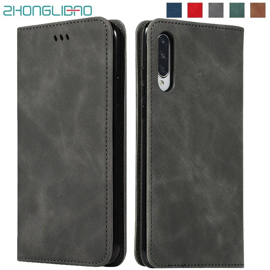 Flip magnético, Funda de cuero para Huawei P30 Honor 20 Nova 5 Pro amigo 20 P20 Lite P Smart Plus Z 2019 8x 5i tarjeta funda de soporte de cartera