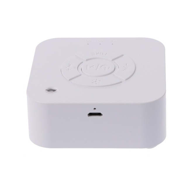 White Noise Machine USB Rechargeable Timed Shutdown Sleep Sound Machine For Sleeping & Relaxation For Baby Adult Office Travel 8