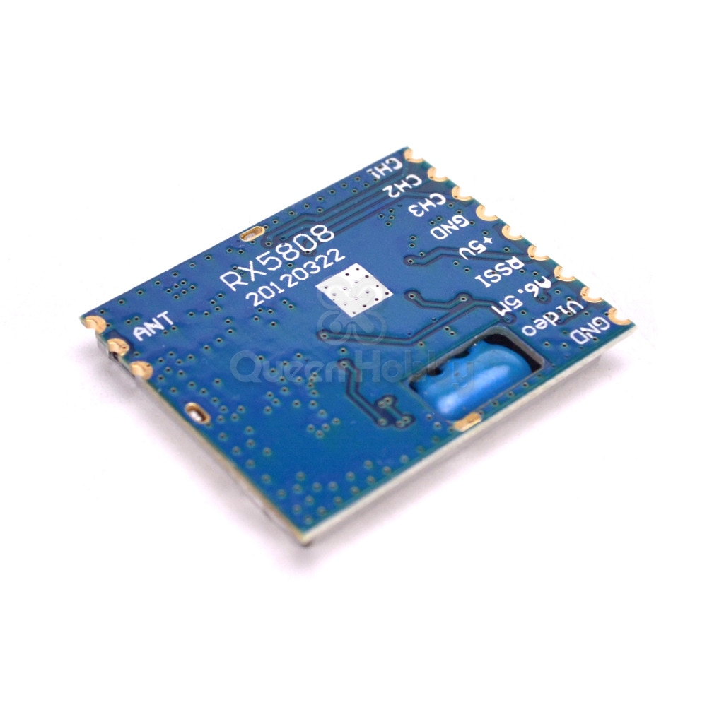 RX5808 5.8g Receptor de Diversidade FPV AV RX Módulo SPI Open Source-95dBm DIY Para Óculos Monitor Para RC partes do Modelo FPV Zangão