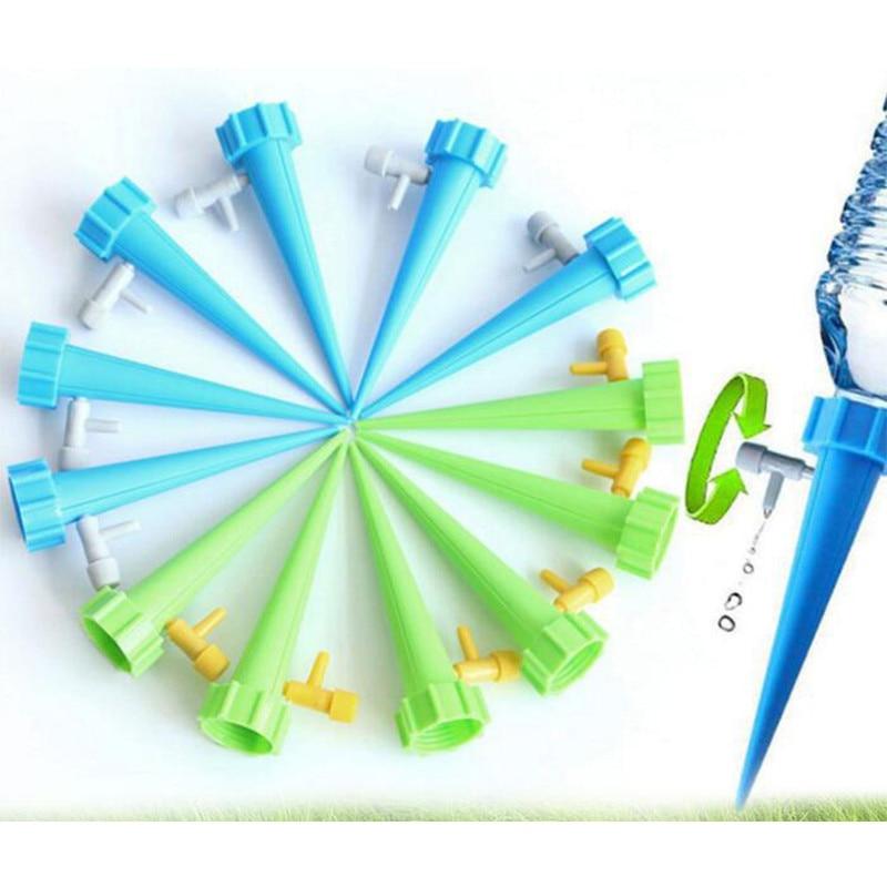 12 vnt. Automatinė laistymo laistymo sistema automatinė laistymo smaigalys augalams gėlių vidaus buitinių laistytuvų butelis U3