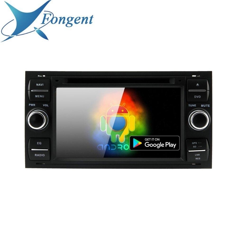 Android Unidad Radio DVD reproductor de Radio negro Color plata para Ford Fiesta de tránsito Galaxy fusión C-MAX S-MAX C S.