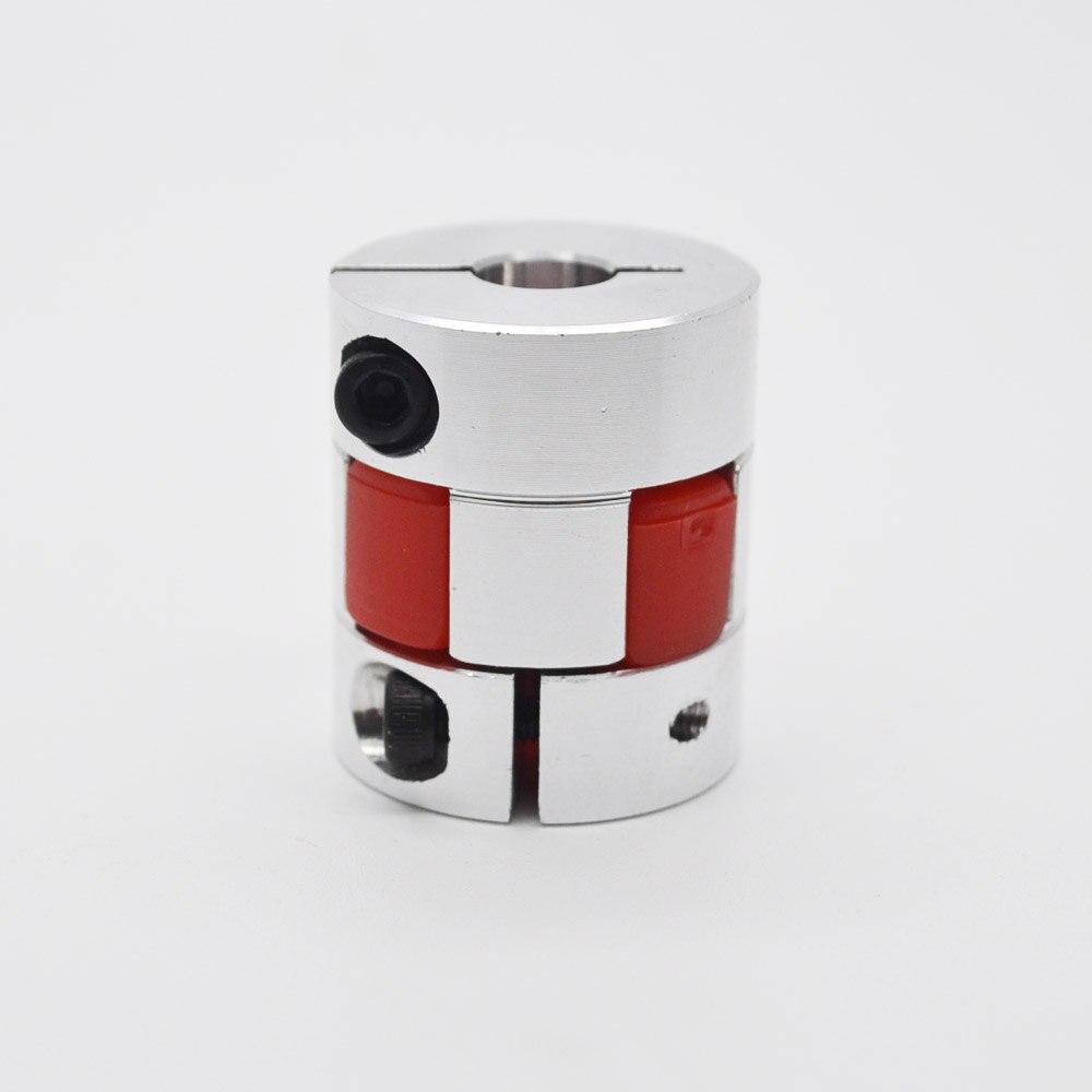 6 unids/lote 12x14mm Acoplamiento de eje flexible acoplamiento diámetro 30 Longitud 40