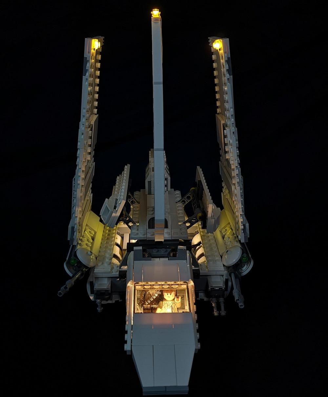 LEVOU Kit de Luz Para 75094 e 07101 o Vaivém Tydirium Imperial edifício (somente luz incluído)