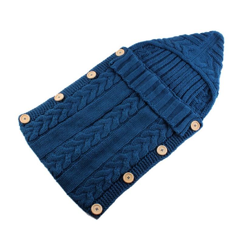 Bnaturalwell Baby Receiving Blankets Newborn Boys Girls Knitted Blanket Swaddle Sleeping Sleepsack Stroller Wrap BC020S