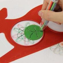 1 Set spirographe magique tortue lapin Sketchpad planche à dessin stylo magique cadeau éducatif dessin règle pour enfants