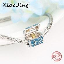 Nouveau design bijoux de luxe boîte cadeau breloques 925 perles en argent ajustement pandora pandora Bracelets bricolage mode fabrication de bijoux femmes cadeau