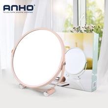 1X 2X Magnifying Makeup Mirror HD Single Side Table Mirror Bathroom Bedroom Princess Colorful 360 degree rotation Destop Mirror