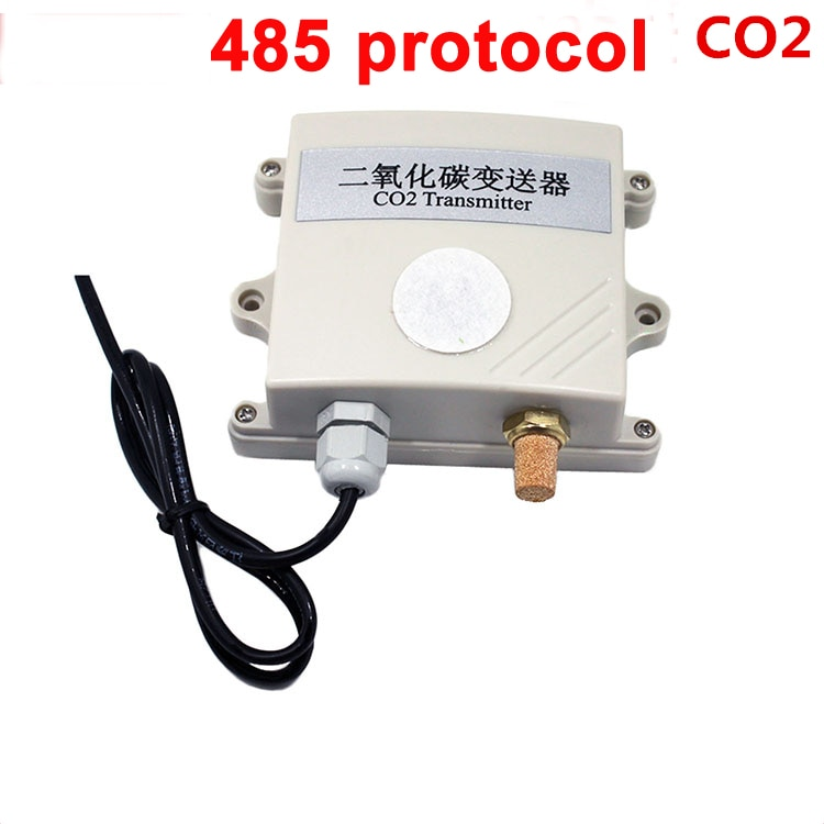 Free ship high quality co2 gas sensor module 485 modbus CO2 Transmitter Carbon dioxide detector gas sensor co2 485 protocol
