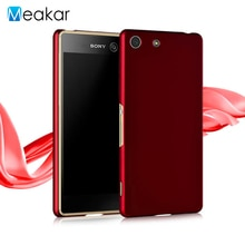 Coque en plastique 5.0For Sony Xperia M5 Coque pour Sony Xperia M5 M 5 Dual E5603 E5606 E5663 E5633 Coque arrière du téléphone