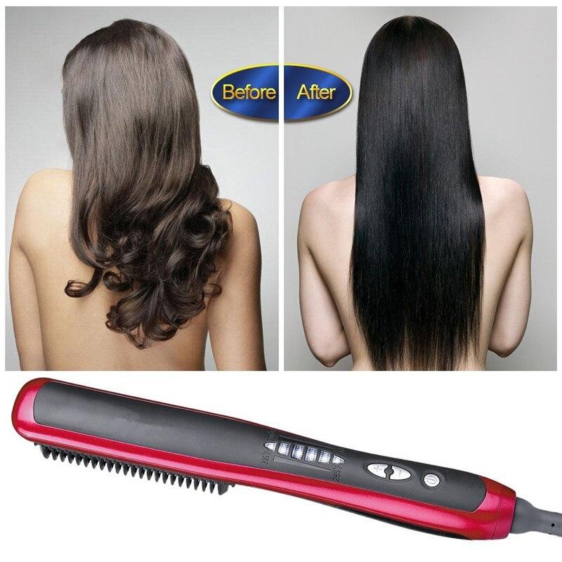 Профессиональный Выпрямитель для волос, с 5 температурными настройками