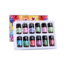 12 Kinds Skin Care 12 PCS Water-soluble 100% Pure Lavender Essential Oils Pack Set For Aromatherapy Massage Spa Bath Fragrance