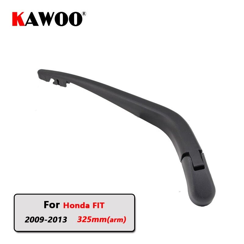 Brazo de limpiaparabrisas trasero de coche KAWOO para Honda Fit Hatchback (2009-2013) accesorios para coche de 325mm