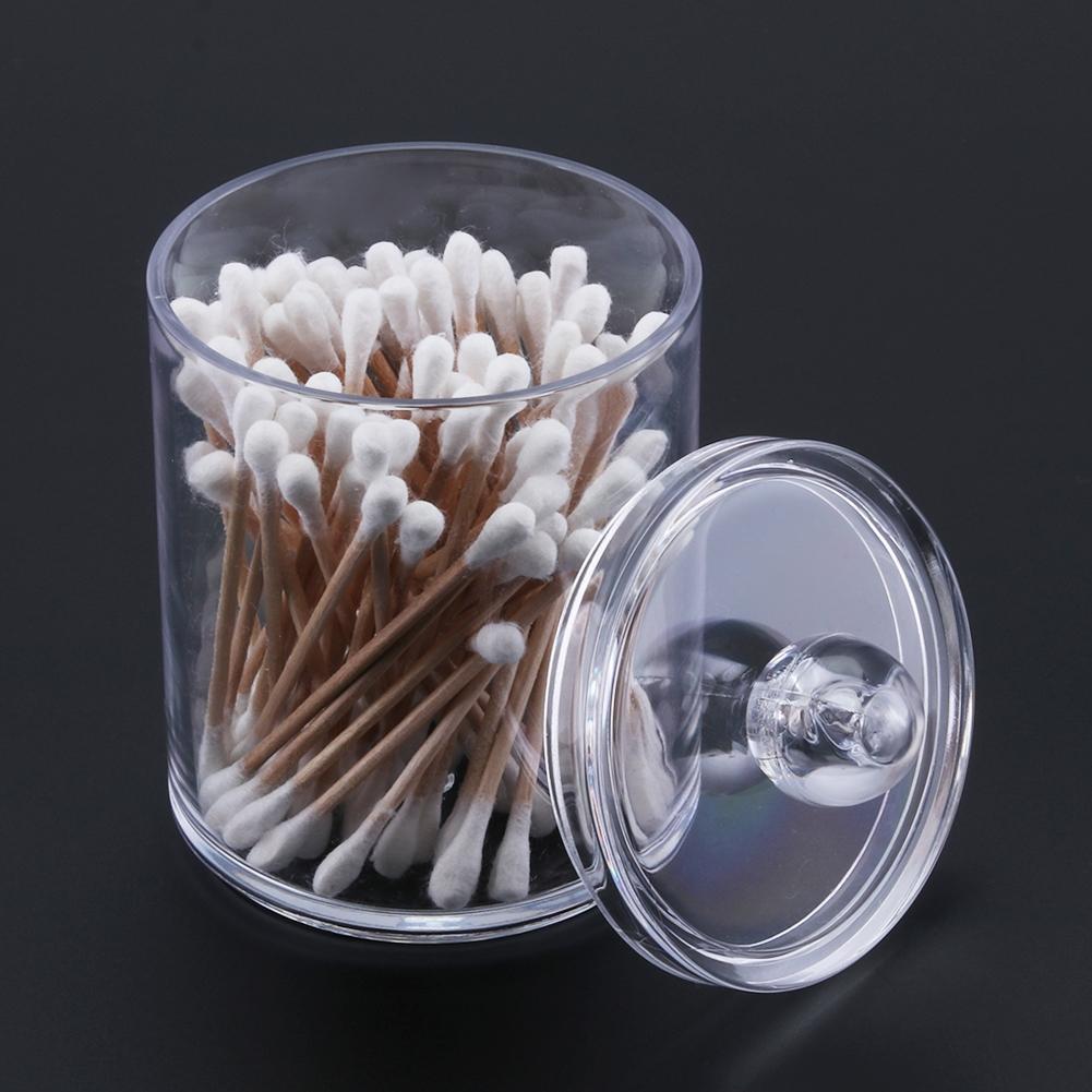 Косметические ватные палочки с двойной головкой, ватные палочки, инструменты для чистки ушей с цилиндрическим акриловым ватным тампоном, 120 шт.
