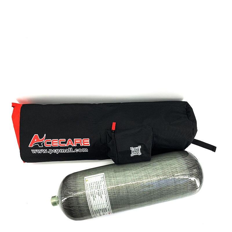 AC1090 cylindre en Fiber de carbone haute pression   300Bar 9L Hpa Pcp, Airgun pour la chasse, sac de cylindre de plongée pour la plongée, Pcp Airsoft Condor
