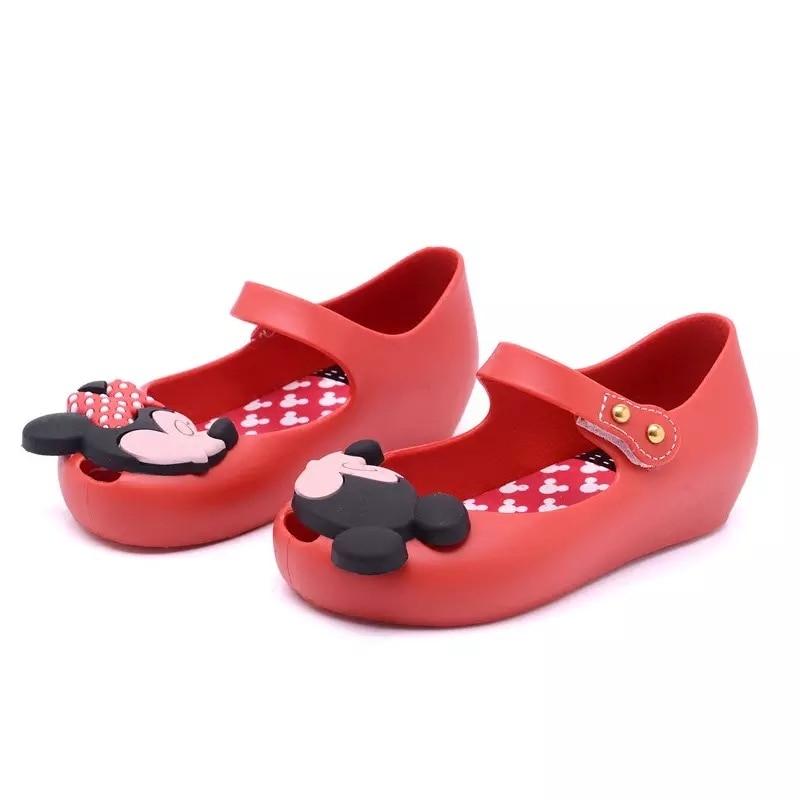 Mini Melissa Girl Sandal Children Shoes for Girl fashionable Kids sandals comfortable Soft sandals for Baby girl sandals 15-18CM