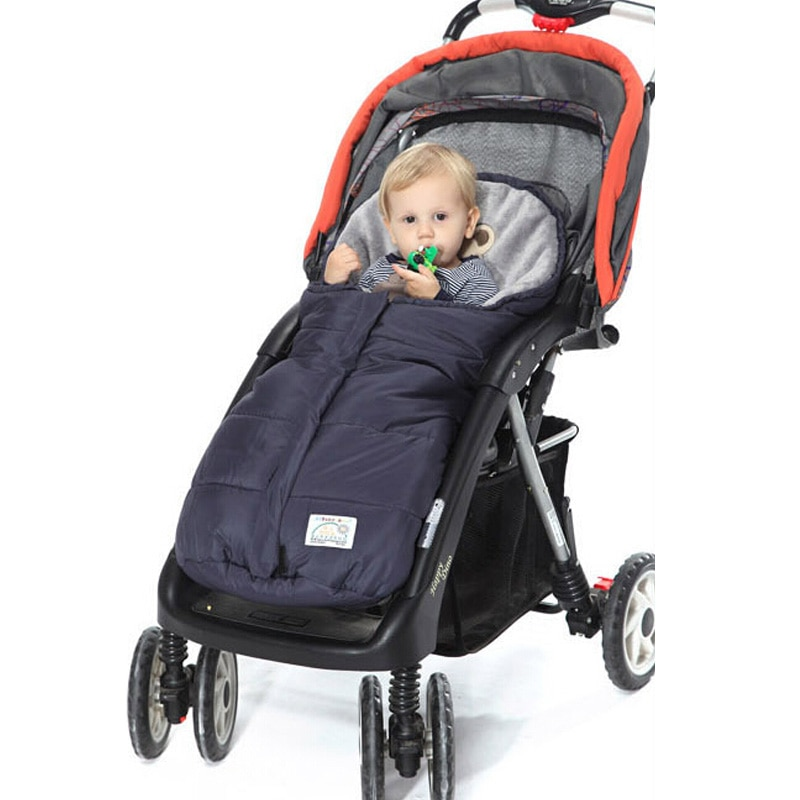 Saco de dormir de carrito de bebé cálido, cochecitos de vellón, saco de dormir infantil, sobres de envoltura para recién nacidos, manta de bebé, saco de dormir de 4 colores