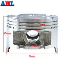 Pièces de moteur de moto pour Honda AX-1 250 NX250 XL250 KW3 AX 1   Pièces de moteur de moto STD ~ + 50 de cylindre, alésoir 70mm 70.25 70.50 Kit de Piston et de anneaux