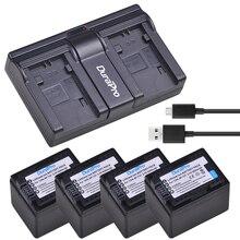 4x 3000mAH BP-727 BP 727 Camera Battery + USB Charger for Canon BP-709,BP-718,BP-727,CG-700,VIXIA HF M50,M51,M52,M560,R300,R306