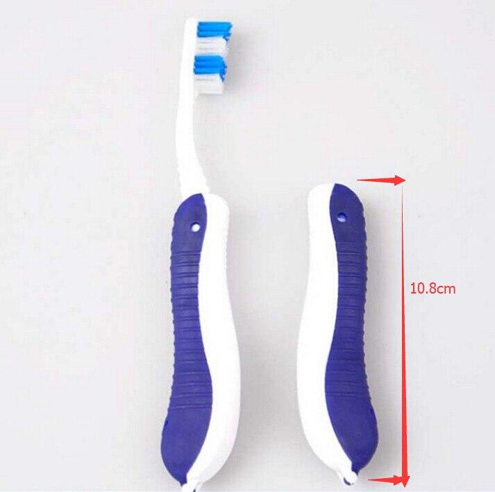 Nuevo Higiene Oral portátil plegable viaje Camping cepillo de dientes senderismo cepillo de dientes Herramientas de limpieza de alta calidad
