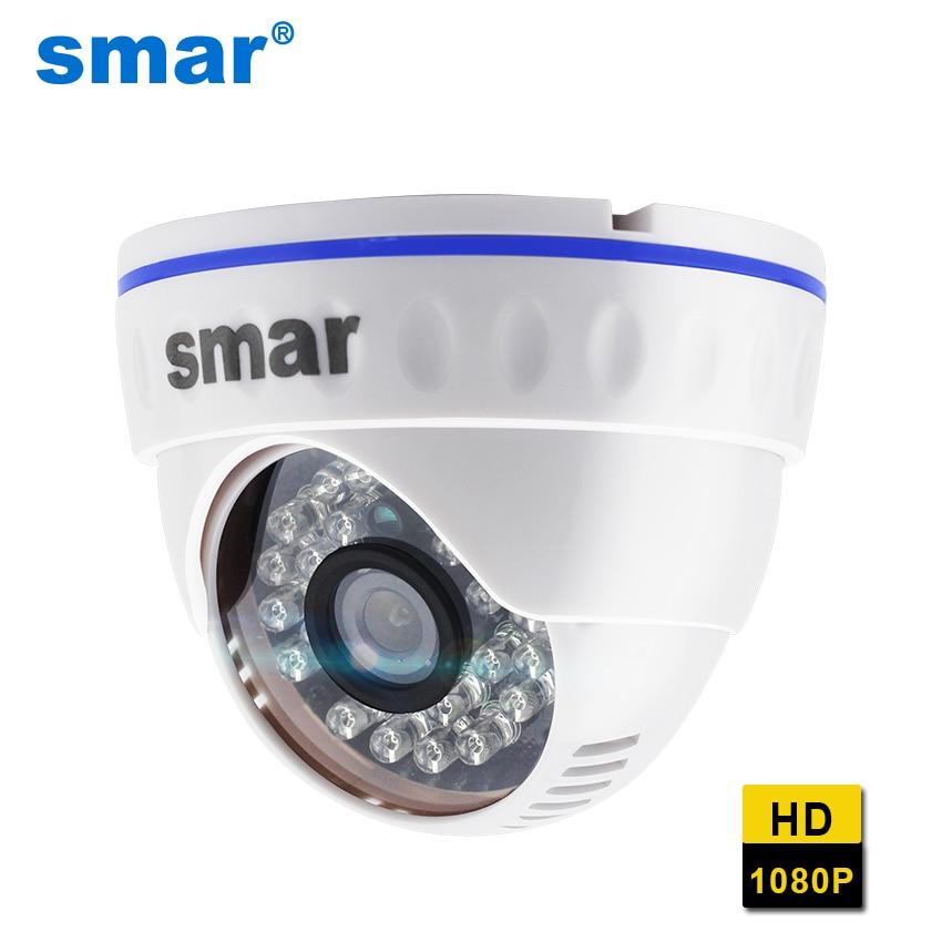 كاميرا IP عالية الدقة 1080 بكسل H.265 ، 20 إطارًا في الثانية ، مع عدسة 3.6 مللي متر ، رؤية ليلية ، شبكة ، قبة ، ICR Onvif P2P ، Android ، iPhone XMEye View