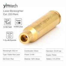 Cal Laser point rouge. 223 Rem 5.56x45MM Laser alésage portée plus étroite visée Laser pour les pistolets, 5-100 Yards portée efficace