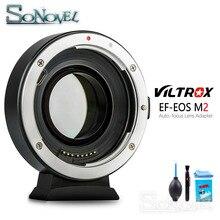 Адаптер для объектива Viltrox, с автофокусом, M2, AF, EXIF, 0,71x, для Canon EF, для камеры EOS M6, M50, M100