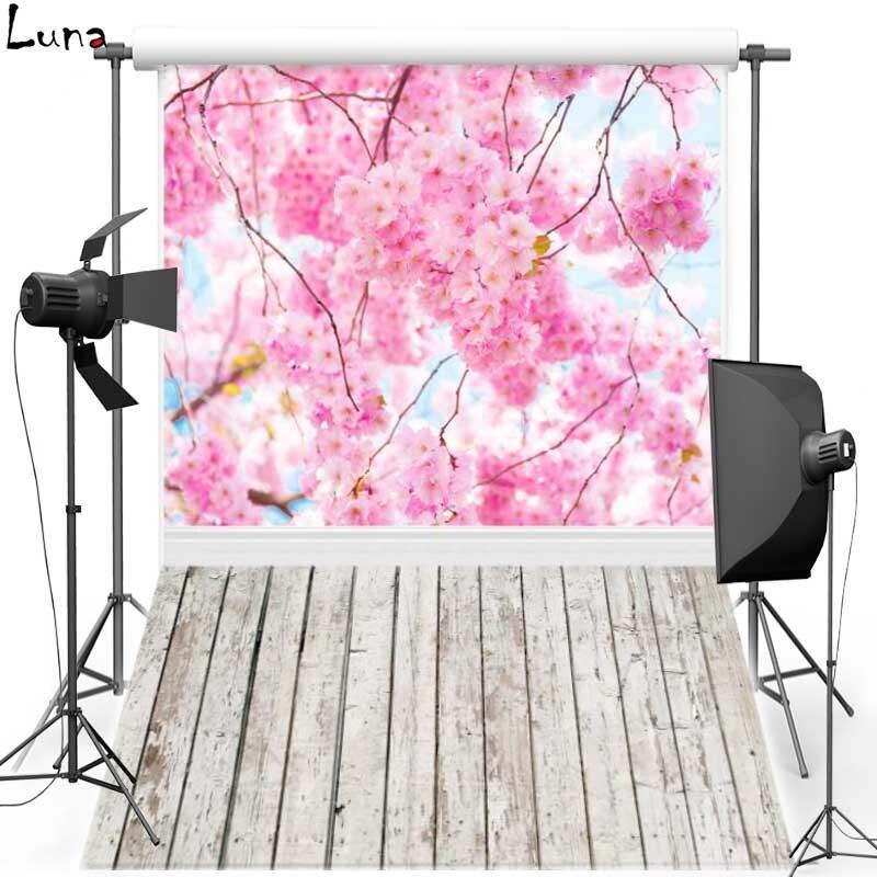 MEHOFOTO Rosa flor vinilo fotografía piso de madera de fondo foto nuevo fondo de tela de franela para Recién Nacido estudio fotográfico 1083