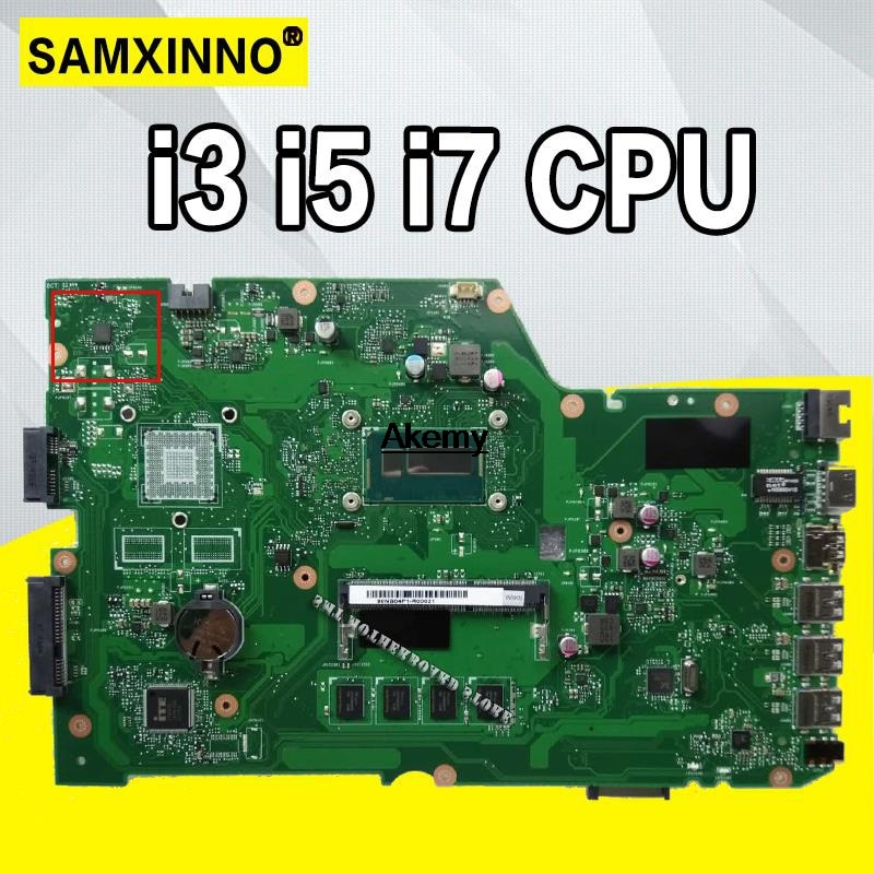 X751LA motherboard For ASUS X751L K751L K751LD R752L X751LK X751LN X751LD X751LX X751LJ X751LB I3/ I5/i7 CPU Laptop mainboard