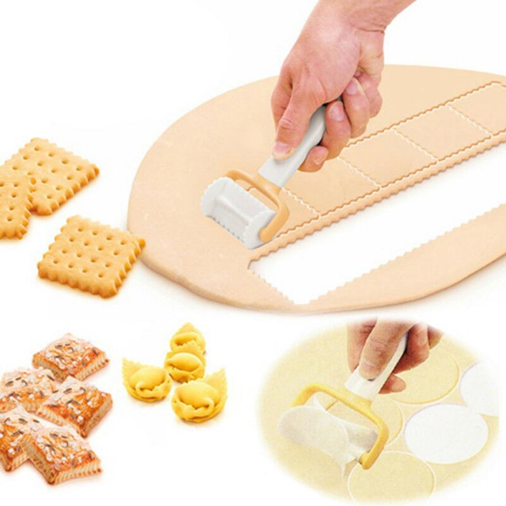 2019 Hot Sale Fondant Cutter Icing Spatula Cookie Mold Cutter Rolling Biscuit Cutting Pastry Blade Dough Cutter Dumpling Mold